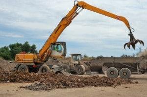 État des lieux d'un parc de matériels et d'engins de travaux publics