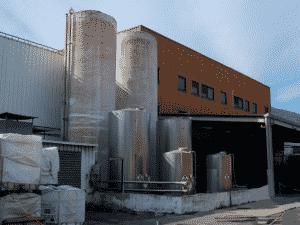 Explosion du dôme d'un silo