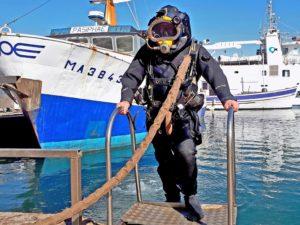 certificat d'aptitude à l'hyperbarie Expert Travaux Maritimes Gilles RACOT