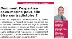 Expertise sous-marine - Dossier revue expert