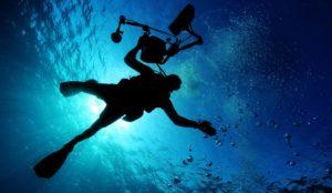 Prises de vues sous-marines par caméra - Expertise travaux sous-marins